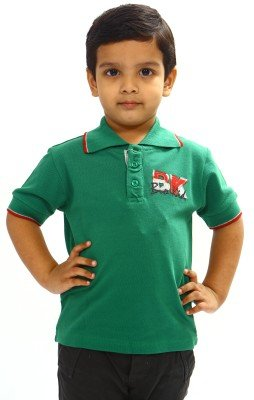 Bio Kid Casual Polo Shirt - Green - 1 Ps Pack(7-9 Years)  available at amazon for Rs.191