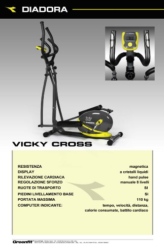 Zoom IMG-3 diadora fitness vicky cross cyclette