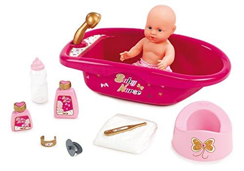smoby-220302-baby-nurse-set-baignoire-et-accessoires