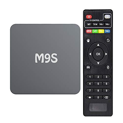 Netzwerk-Player, TV-Set-Top-Box Android 5.1 1G + 8G 2,0 GHz Bluetooth-Set-Top-Box unterstützt TF-Karte/U-Disk 2,4G WiFi-Unterstützung 4K2k HD-Decodierung -