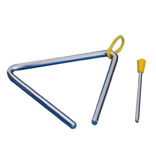 Ruikey Early Childhood Musikausbildung Triangle Percussion Spielzeug Spielzeug Dreieck Eisen Eisen 4 Zoll