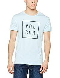 Volcom Flagg Lightweight Turquoise T-shirt