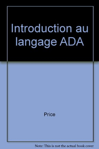 Introduction au langage Ada