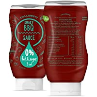callowfit Low Carb Sauce 0% Fat & Azúcar–Dietas salsas (Smoky BBQ)
