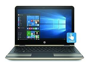 HP Pavilion x360 13-u102na Convertible Laptop (13.3 inch, Full HD, Touch-Screen, Intel Core i5-7200U, 8 GB RAM, 128 GB SSD, Windows 10) - Gold