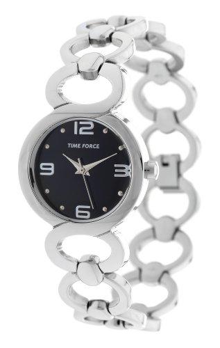 Time Force 83015–Montre bracelet pour femme, bracelet en acier inoxydable couleur argent