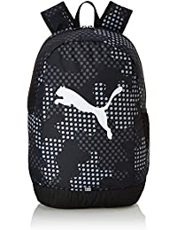PUMA 24 Ltrs Puma Black-Dot AOP Laptop Backpack (7604802)