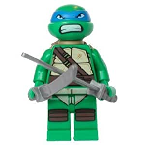 LEGO TMNT - LEONARDO V2 Minifigure - Teenage Mutant Ninja Turtles