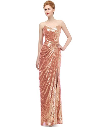 Femme Soirée Jydress Robe Paillettes Sweetheart Party j3RL5A4