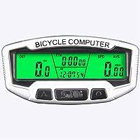 XuBa Large LCD Display Bicycle Bike Cycling Computer Odometer Speedometer Stopwatch