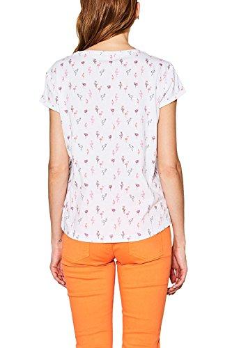 ESPRIT T-Shirt Donna Multicolore (White 2 101)