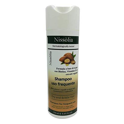 Scheda dettagliata Shampoo Ristrutturante Per Capelli Ricci - Crespi All'Olio Di Argan Con Biotina, Vitamina E ed Estratti Vegetali - 250 ml