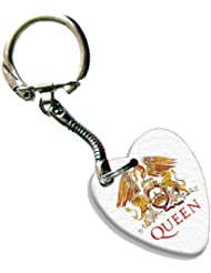Queen Love Heart Gitarre Pick Plektron Schlüsselring