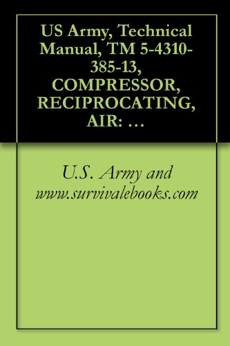 US Army, Technical Manual, TM 5-4310-385-13, COMPRESSOR, RECIPROCATING, AIR: ELECTRIC MOTOR DRIVEN 5 CFM, 175 PSI C&H MODEL 20-918, (NSN 4310-01-252-3957), ... manauals, special forces (English Edition) (Cfm-motor)