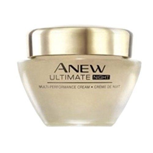 AVON - Anew Ultimate - 50+ geeignet - Aufbauende Nachtcreme mit Lifting-Effekt+ - 50 ml