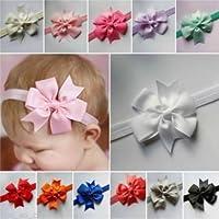 Lindo bebé recién nacido niños diadema bebé Niños lazo banda de pelo niñas accesorios