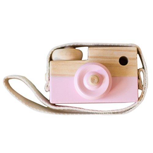 Wingbind Mini-Kamera, nordischen Stil aus Holz handgefertigt, Home Schlafzimmer/Party/Hochzeit/Geburtstag/Kinderzimmer/Cradle/Baby-Dusche/Foto-Shooting hängende Dekoration (Christian-wand-dekor)