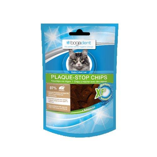 katzeninfo24.de Bogadent Plaque Stop Chips – Kat 50 gr.