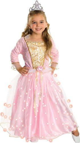 Rubie 's Offizielles Twinkler Rose Prinzessin Kostüm Mädchen One Size Preisvergleich