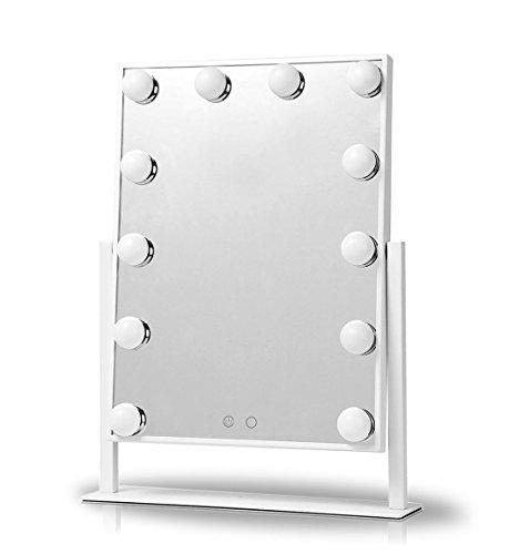UPHAN V1 großer Hollywood Art Kosmetikspiegel LED Beleuchtet Verfassungs Eitelkeits Spiegel mit LED...