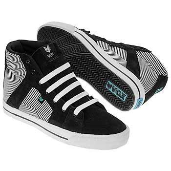 Vox Footwear Vamp Skateboard Shoes Black / Blue / linear, shoe size:43