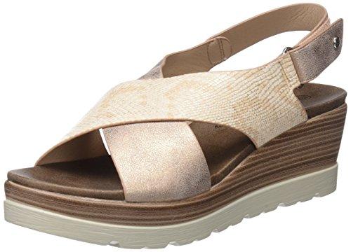 XTI 47938, Sandali con Cinturino alla Caviglia Donna, Rosa (Nude), 39 EU