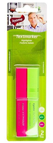 triangular-resaltador-kyome-con-punta-de-cincel-2-x-2-pack-verde-rosa