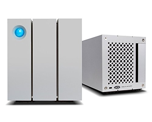 LaCie 2big Thunderbolt 2 8000GB Desktop Silver disk array - disk arrays (HDD, 8000 GB, HDD, 0, 1, JBOD, 7200 RPM, Desktop)