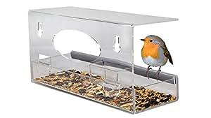 natur fenster futterspender f r garten v gel wie kardin le und kolibris acryl vogel. Black Bedroom Furniture Sets. Home Design Ideas