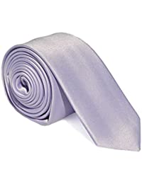 Light Lilac Purple Skinny 5cm Wedding Tie and Accessories