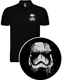 Polo de Hombre Star Wars Dark Vader Han Solo Fuerza Hora Leia