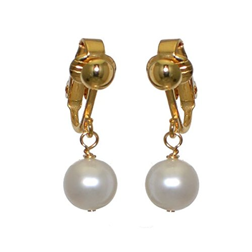 fresca-uno-gold-plated-8mm-freshwater-pearl-clip-on-earrings