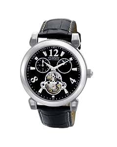 Viceroy - 47547-55 - Montre Homme - Automatique - Analogique - Bracelet Cuir Noir