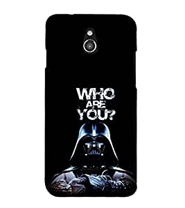 EPICCASE Who are You Mobile Back Case Cover For Infocus M2 (Designer Case)