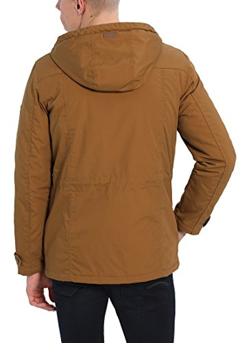 SOLID Tilas Herren Parka Übergangsjacke mit Kapuze aus hochwertiger Materialqualität Cinnamon (5056)