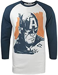 Hommes - Junk Food Clothing - Captain America - T-Shirt