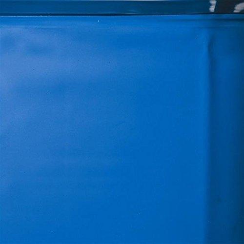 Liner bleu rail DREAMPOOL 40/100e piscine Ø4.6m x 1.20m Gre Pools FPR451