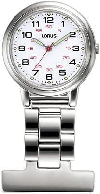 Lorus RG251CX9 - Reloj unisex de cuarzo, correa de metal