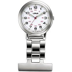 Lorus Nurses Fob Watch RG251CX9
