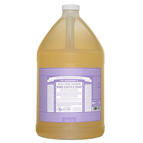 Bronners Magic Soaps Kastilien Seife (Dr. Bronner - Kastilien Seife Lavendel, 1 Gallone Flüssigkeit)