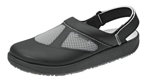 Abeba 9245-40 Rubber Chaussures sabot Taille 40 Noir