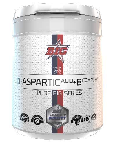 Pure Big Series - Pharma Grade - D-Aspartic Acid + B Complex