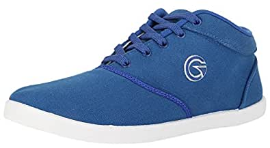 Globalite Men's Navy Canvas Sneakers (8903828038991) - 6