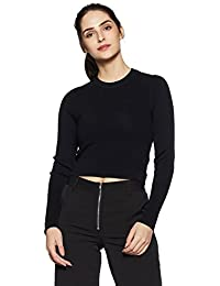 Forever 21 Women's Body Blouse Rayon Pullover