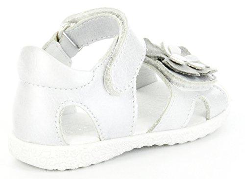 Richter Kinder Lauflerner-Sandalen silber Metallic Mädchen Schuhe 2201-521-0400 Silber