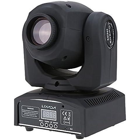 Lixada RGBW LED Luce di scena/LED Sfera Magic Luci,DMX-512,25W,AC 100-240V
