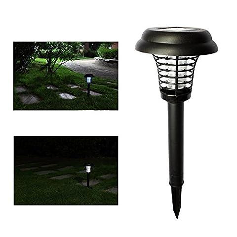 Newnen Fonctionne à l'énergie solaire Mosquito Killer Lawn Light 2en