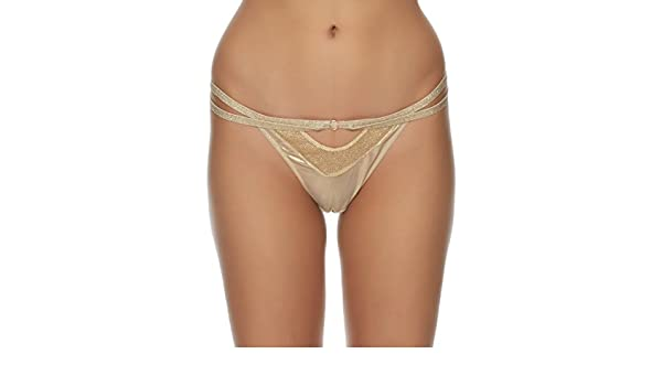 Ann Summers Womens Kerala Thong Gold Mesh G-String Sexy Lingerie Underwear  L  Amazon.co.uk  Clothing 62f968409
