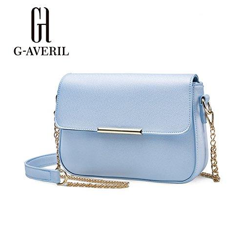 G-AVERIL, Borsa a mano donna Blu Blue Blue