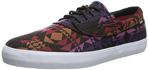 LAKAI Skateboard Shoes CAMBY BLACK TEXTILE Schwarz